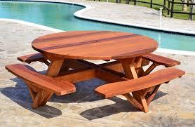 cedar patio table plans