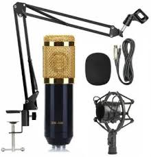 Techtest <b>Bm800 Professional</b> Suspension Microphone Kit <b>Studio</b> ...