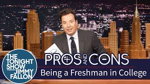 pros and cons being a freshman in college pros and cons being a freshman in college