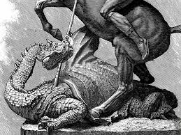 Image result for st george and the dragon