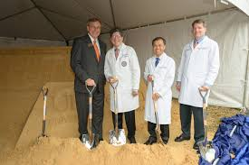 the power of together in action shands news notes uf health heart vascular hospital and uf health neuromedicine hospital groundbreaking