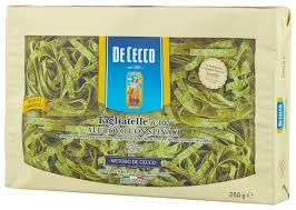 <b>De Cecco Макароны</b> Tagliatelle n° 107 all'uovo со шпинатом, 250 г ...