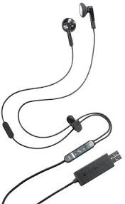 Logitech BH320 In-Ear <b>Earphones</b> with Microphone and <b>USB Cable</b> ...