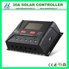 China 30A <b>40A 50A 60A</b> 12V/24V Solar Charge Controller (QWP ...