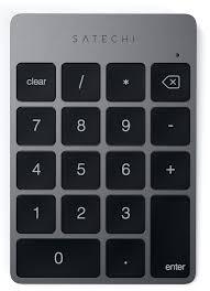 Цифровой блок <b>клавиатуры Satechi Aluminum Slim</b> Keypad Numpad
