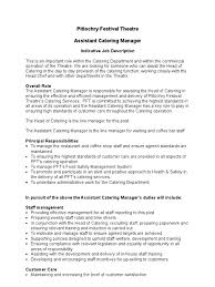 assistant catering manager job description occupational assistant catering manager job description 33 occupational safety and health