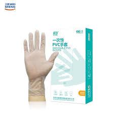 100PCS <b>Disposable PVC</b> Gloves Powder <b>Free</b> Touchscreen Gloves ...
