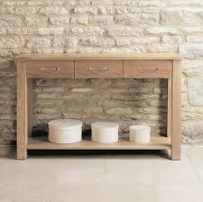 mobel oak solid oak console table baumhaus mobel oak extra