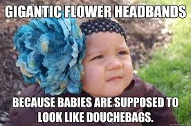 gigantic flower headbands as if she won't hate you enough in 15 ... via Relatably.com