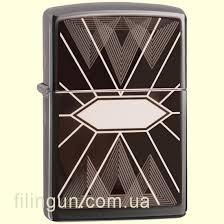 <b>Зажигалка Zippo</b> 49164 <b>Triangles Geometry</b> Design – купить в ...