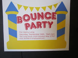 bounce house birthday clipart clipartfest bounce house invitations