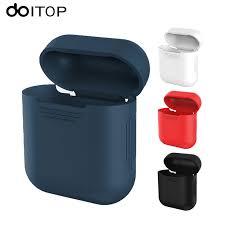 <b>DOITOP</b> For Apple <b>Airpods</b> Silicone Airpod Case Shell Transparent ...