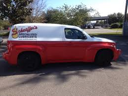 graphics enhance a custom paint job cardinal signs the graphics on the vehicle s sides compliment the paint job out interfering the pin striping near the