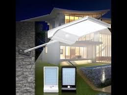 <b>36 LED</b> Motion Sensor <b>Solar</b> Light - YouTube