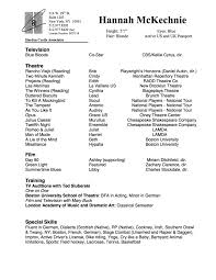 resume hannah mckechnie resume
