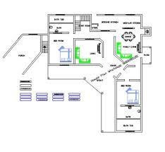 Free L Shaped House Plan Home Design Ideas   Indian Home design    Free L Shaped House Plan Home Design Ideas
