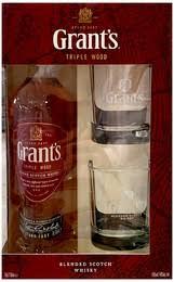 """Винный <b>набор</b> """"Grant's"""" Triple Wood 3 Years Old, в подарочной ..."""