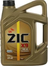 <b>Масло моторное ZIC</b> X9, синтетическое, класс вязкости 5W-40 ...
