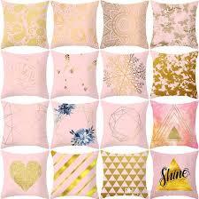 <b>45*45CM Nordic</b> Style Pillow Case Printed <b>Cushion Cover</b> Stripe ...