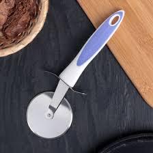 <b>Нож для пиццы</b> и теста Доляна Style, <b>21 см</b>, ручка soft touch, цвет ...