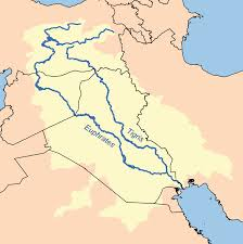 how enviroment and geographical location affected the early river the border runs through the tigris watershed above leaving the