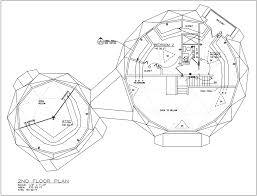 Dome Building Plans and Panelized Building Kit Sale Pricing   AiDomes ′ Floor Plans st Floor