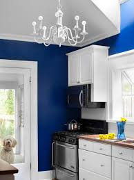 Wall For Kitchens Blue Kitchens Design With Granite Backsplash And White Wall