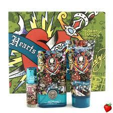 <b>Christian Audigier ED</b> Hardy Hearts & Daggers Coffret: Edt Spray ...