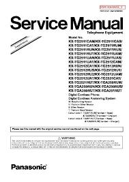 <b>Panasonic KX</b>-TG2512CAM, <b>KX</b>-TG2512CAT, <b>KX</b>-TG2512RUN, <b>KX</b> ...