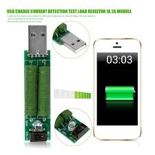 <b>USB Charge Current Detection</b> Test Load Resistor 1A 2A Module ...