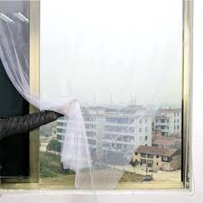 Honana wx-328 white curtain <b>insect mosquito self</b>-<b>adhesive</b> door ...