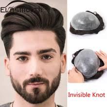 Парик из натуральных человеческих волос для <b>мужчин</b>, <b>v</b> ...