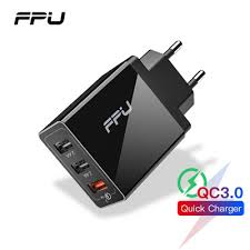 authentic FPU 3 Port USB Charger 30W Quick Charge 3.0 ... - Qoo10