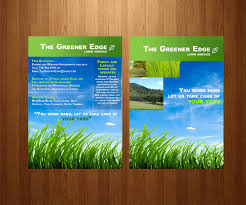 professional residential flyer designs for a residential flyer design design 2519750 submitted to postcard for lawn service business closed