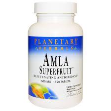 <b>Амла</b>, Amla Superfruit, Planetary Herbals, 500 мг, 120 таблеток - в ...