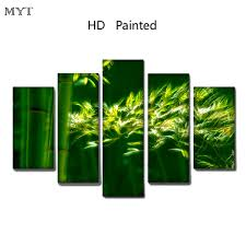 <b>Hot sale</b> Clear Green bamboo scenery High Quality HD Printed <b>5</b> ...