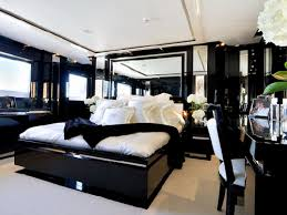 interesting black polished platform bed frames and white covers sets plus white ceiling painted feat lighting black white bedroom furniture