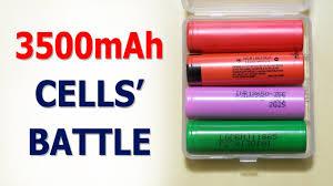 <b>3500mAh batteries</b>: Sanyo NCR18650GA vs Panasonic ...