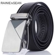 <b>RAINIE SEAN</b> White Belt <b>Women</b> Pin Buckle <b>Leather Women</b> Belt ...