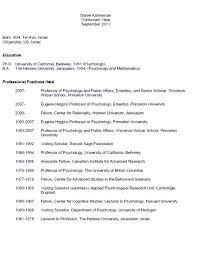 Resume Psychologist Resume