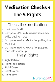 17 best ideas about nursing administration pharmacy medication checks the five rights of medication administration you must know in nursing school