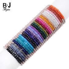 <b>BOJIU</b> Tiny Acrylic Bead Women <b>Charm Bracelet</b> Trendy Moon ...