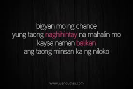Quotes About Second Chances in Love Tagalog images