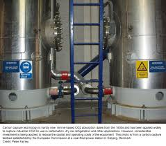 response to daniel ziskin s essay on carbon capture image of tanks inside a carbon storage area