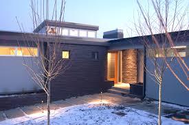 halladay street remodel beautiful mid century modern exterior lighting