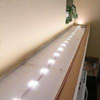 a simple do it yourself led project above cabinet lighting using led modules follow this quick guide to learn how to add energy efficient and eco friendly cabinet lighting guide