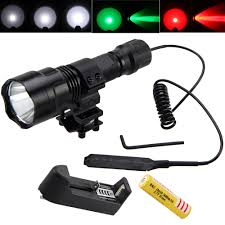 <b>Vastfire</b> LED Flashlight <b>Infrared IR 850nm</b> Red Night Vision Weapon ...