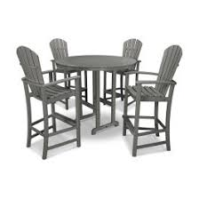 POLYWOOD® Palm Coast <b>5</b>-Piece <b>Bar Set</b> - PWS261-1 ...