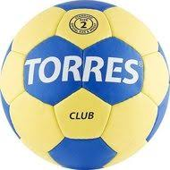 <b>Мяч гандбольный TORRES Club</b>, р.2, ПУ, 5 подкладочных слоев ...