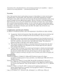 alcohol what you should know   sample essay    participation in alcoholics